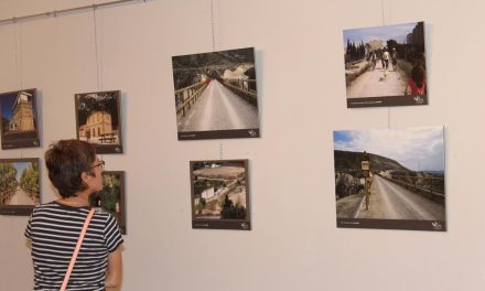'Raíles Verdes', exposición sobre el antiguo trazado del tren hoy convertido en itinerario eco-turístico, llega a Bullas