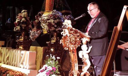 Marcial García glosa de forma inigualabre los momentos históricos que ha vivido el Santuario de Ntra. Sra. de la Esperanza
