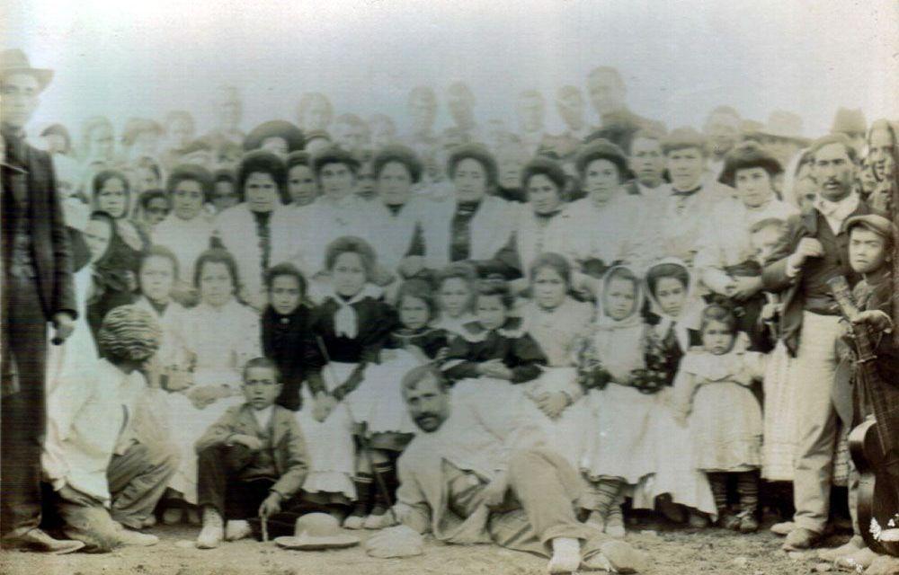 La familia Navarro peregrina por tercera ver en ciento ocho años al Santuario de Jesucristo Aparecido en Moratalla