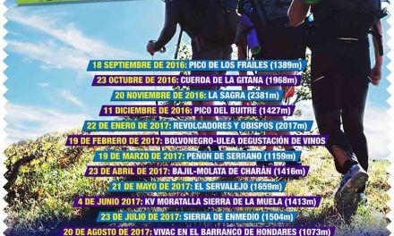 Segunda edición de Rutas Senderistas 12 Picos organizada por el Club Mountain Noroeste