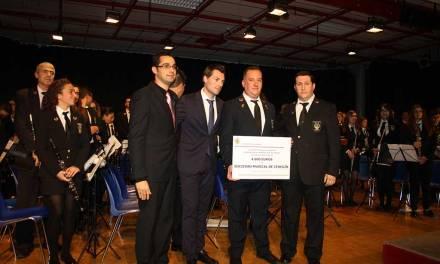 La Sociedad Musical de Cehegín y su Banda Juvenil conmemoran a Santa Cecilia con un gran concierto,  la celebración de sus premios y la presentación de un CD