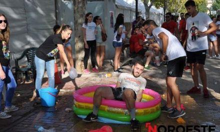 Deporte en la jornada de convivencia de las peñas en las Fiestas Patronales 2016