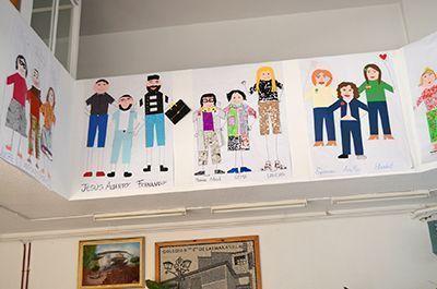 Cehegín pinturas colegios Día del Maestro