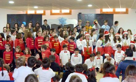 El Colegio Concertado Señora de las Maravillas de Cehegín celebra la Navidad