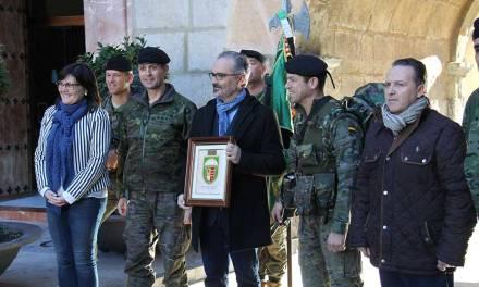 400 componentes e la III Bandera Paracaidista 'Ortiz de Zarate' peregrinan a Caravaca