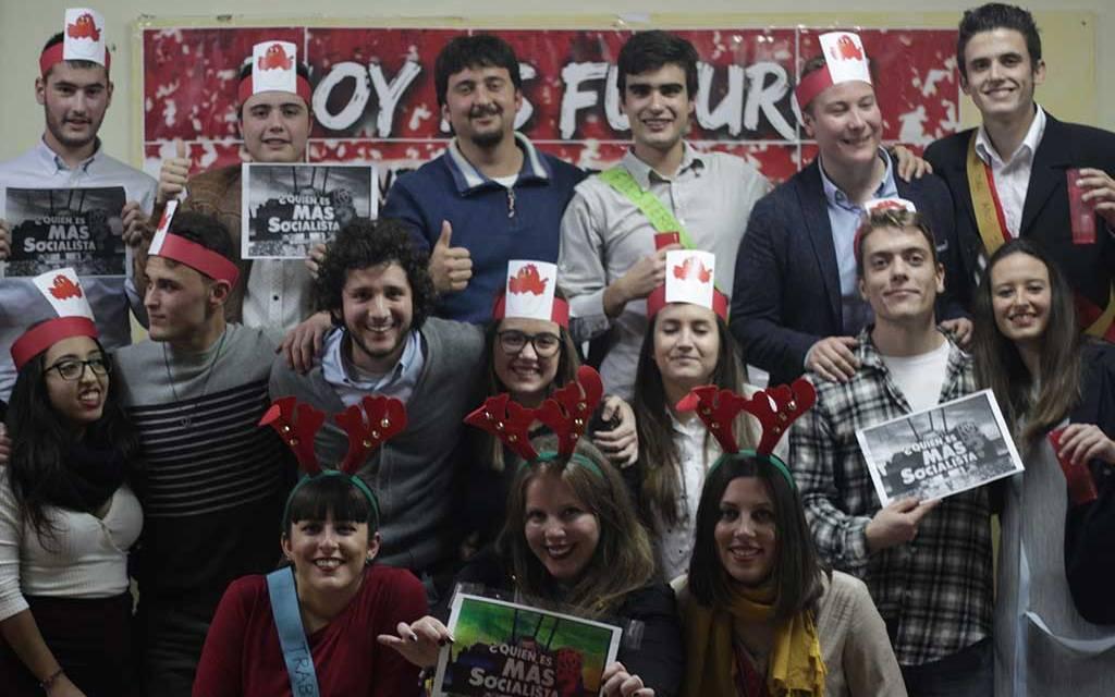 Juventudes Socialistas celebra en Cehegín su gala afectiva y la fiesta del mantecao