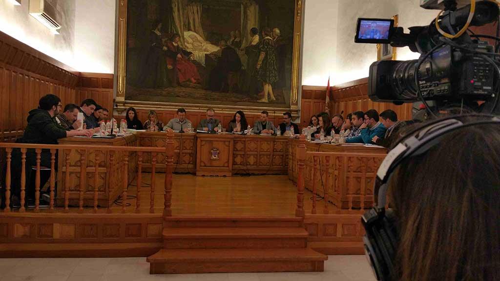 El Pleno de Caravaca pide un plan de modernización y crecimiento para el Consorcio de Extinción de Incendios