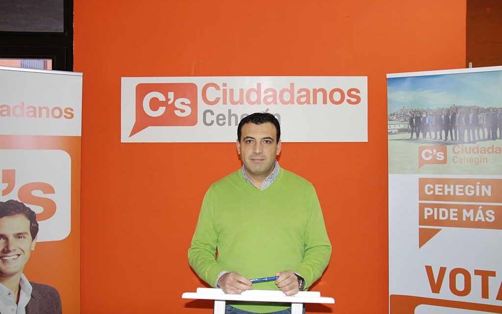Ciudadanos impulsa un Reglamento Orgánico Municipal que podría llevar los plenos a las pedanías de Cehegín