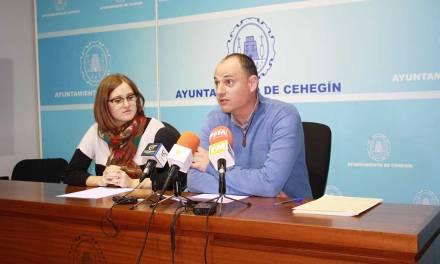 El Ayuntamiento de Cehegín contratará a cinco jóvenes del municipio y realizará una serie de actuaciones para fomentar la empleabilidad y la cualificación profesional de este colectivo