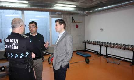 La Concejalía de Seguridad Ciudadana de Cehegín dota de infraestructura el gimnasio de la Policía Local