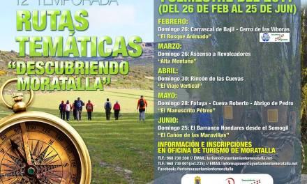 Comienza la doceava edición de Descubriendo Moratalla con una excursión conjunta con D'Ruta