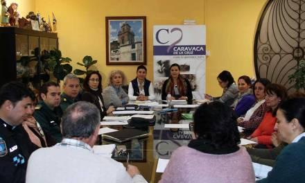 La Mesa de la Violencia de Género se reúne en Caravaca para potenciar las actuaciones de sensibilización dirigidas a la población