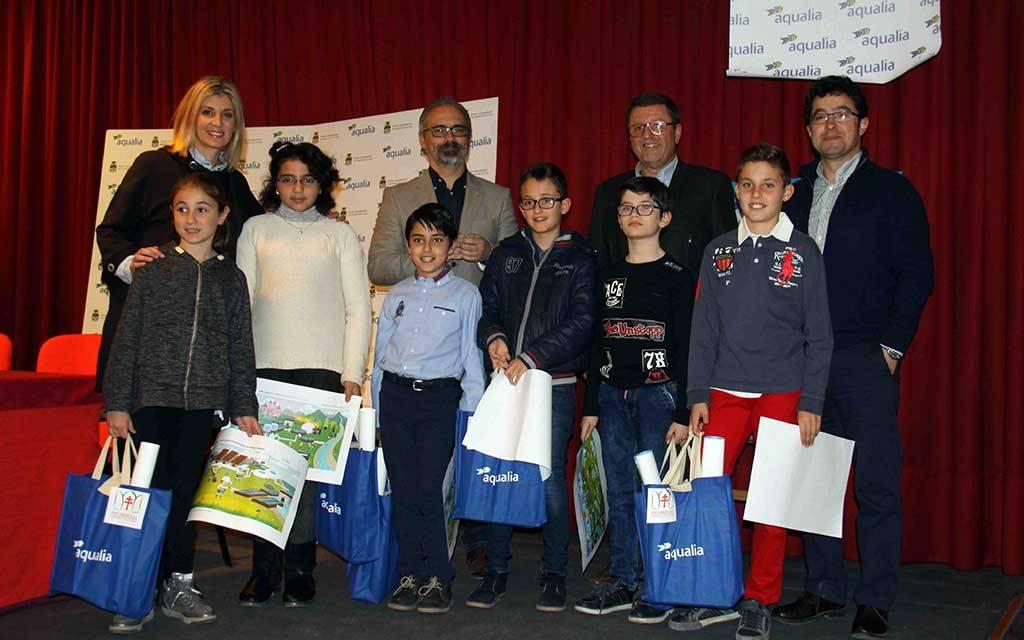 Seis escolares caravaqueños, finalistas en el concurso del 'Día Mundial del Agua'
