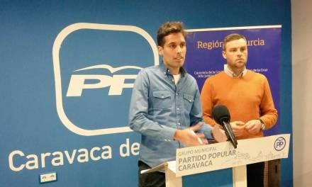 El PP de Caravaca propone crear una comisión técnica que estudie una estructura sólida y duradera de la Policía Local