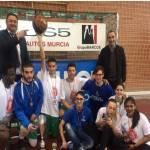 El equipo de baloncesto de los Institutos Vega del Árgos y Alquipir se proclama campeón de la Liga de Baloncesto Secundaria Región de Murcia