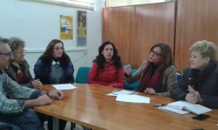 La Asociación de Comercio de Cehegín muestra a la Comunidad Autónoma su proyecto de remodelación de la plaza de abastos