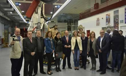 La Comunidad entrega a Cartagena, Blanca y Albudeite tres imágenes recuperadas por el Centro de Restauración