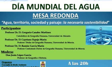 El Ayuntamiento de Caravaca organiza una mesa redonda el 22 de marzo por el 'Día Mundial del Agua'