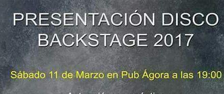 Backstage presenta el sábado en el pub Ágora de Mula el disco compuesto por artistas de la asociación