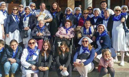 1.200 personas participan en la peregrinación de la Hospitalidad de Lourdes a Caravaca