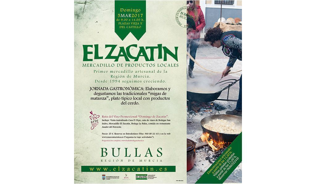 Migas con tropezones en el Zacatín de Bullas del domingo 5 de marzon