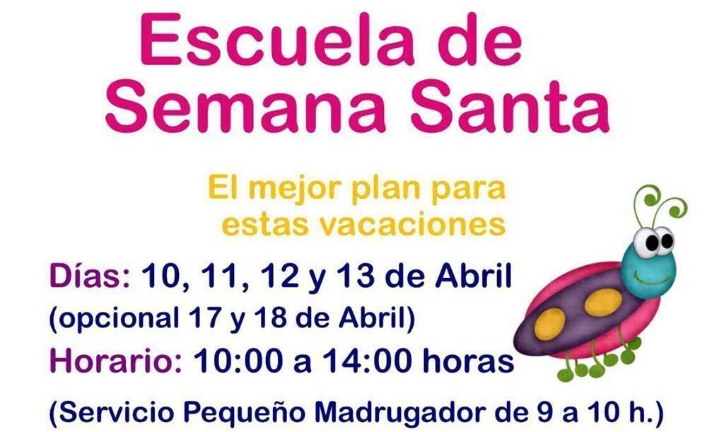 Abierto el plazo de inscripción para la Escuela de Semana Santa de Cehegín