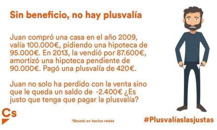 Ciudadanos Caravaca pide al Consistorio que devuelva la plusvalía a quienes hayan vendido inmuebles sin beneficio
