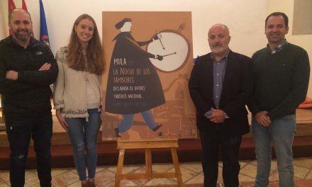 Marta López, autora del cartel ilustrador de La Noche de los Tambores de Mula 2017