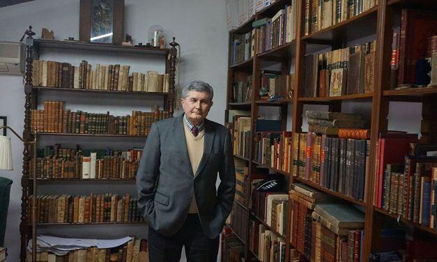La vida como lector de Juan González Castaño, director de la Academia Alfonso X El Sabio
