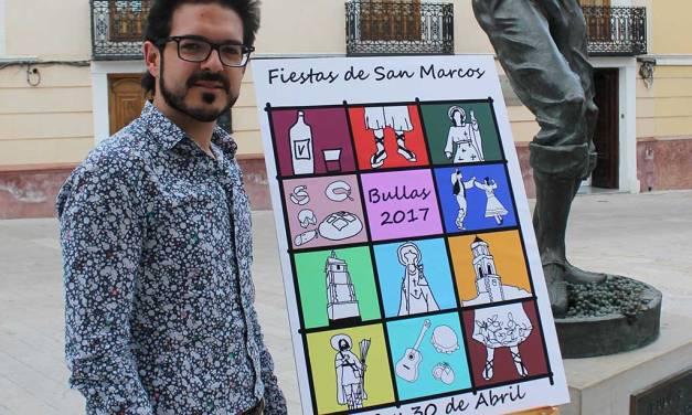 «La Fiesta de San Marcos es un placer para los sentidos», Antonio José Espín, concejal de Festejos de Bullas