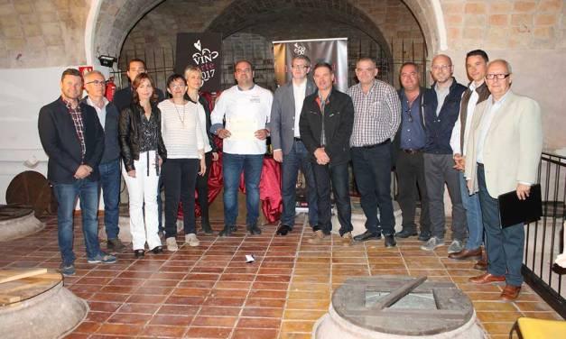 Restaurante Borrego y Bodegas Carreño, ganadores del Concurso 'Mejor Maridaje Vinarte 2017'