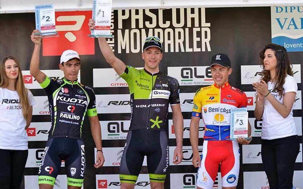 El ciclista caravaqueño Fran G. Rus regresa a la competición con victoria