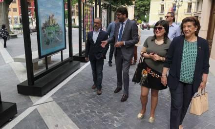 Inauguración en Caravaca de la Cruz de la exposición Itinerante 'Cruces de Caravaca'