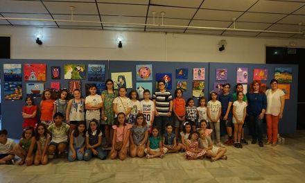 Los alumnos de Keke Calvache exponen en la Casa de la Cultura de Caravcaca