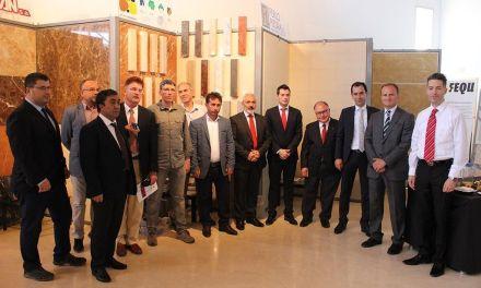 Una delegación turca visita el Centro Tecnológico del Mármol para impulsar un proyecto europeo