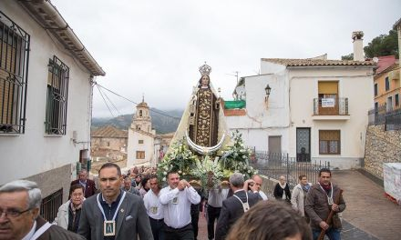La Patrona de Mula peregrina a Caravaca con motivo de su Año Jubilar