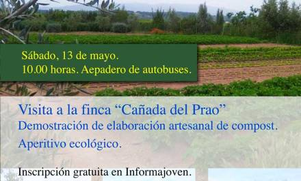 Visita a la finca 'Cañada del Prado' el sábado dentro de las actividades de Junio Verde