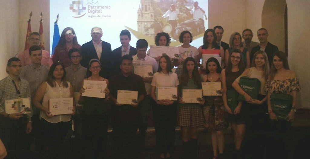 Galardonados en Mula 11 estudiantes por sus fotografías y sonidos representativos del patrimonio regional