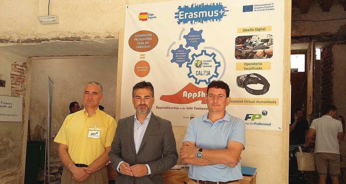 El IES Ginés Pérez Chirinos consigue 308.000 euros de ayudas europeas para el ciclo de FP dual de Calzado