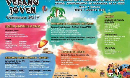 La Concejalía de Juventud de Caravaca oferta actividades en materia de ocio y formación para los meses de verano