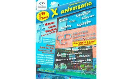 El Centro Deportivo Caravaca celebra su décimo aniversario este 24 de junio