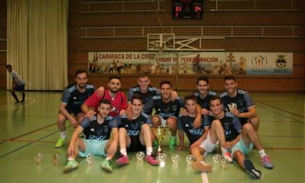 Sporting B, vencedor de la Liga de Fútbol Sala de Caravaca