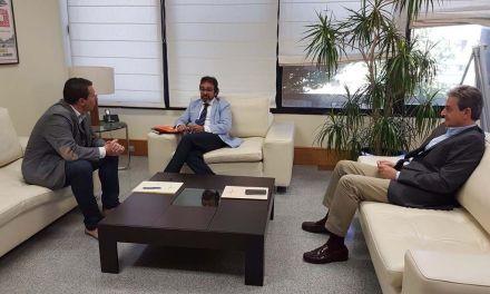 Alcalde y Consejero de Fomento mantienen una reunión en Murcia para tratar diferentes asuntos relacionados con el Municipio de Mula