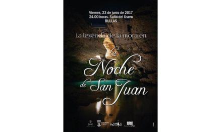 La Mora baja al Salto del Usero en la noche mágica de San Juan