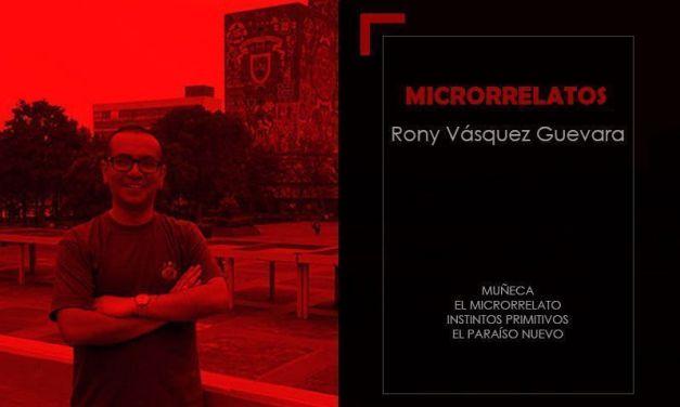 La Lupa del Microrrelato – Rony Vásquez Guevara