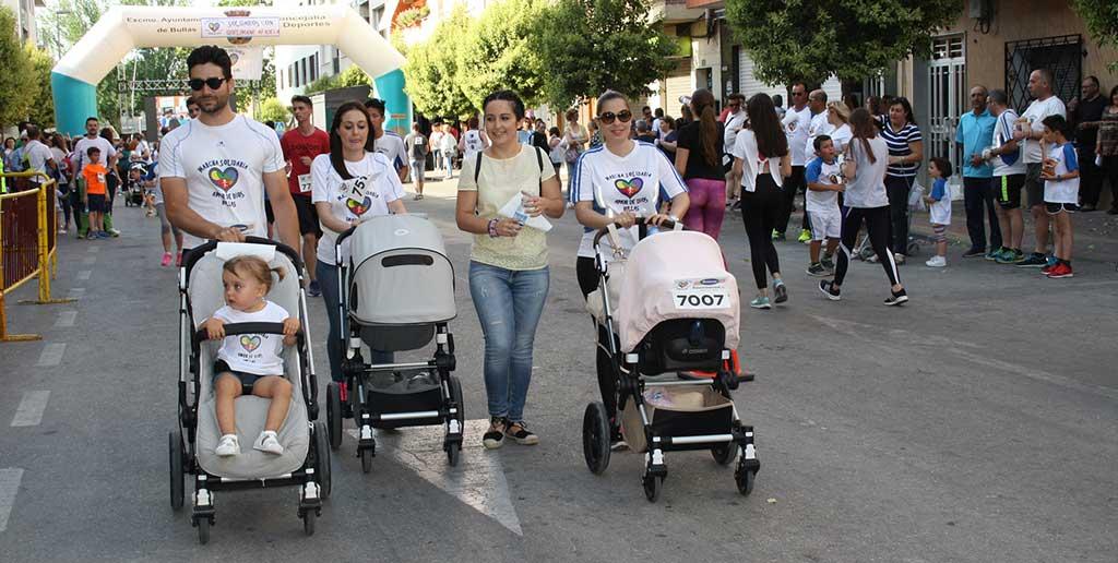 Cerca de 900 dorsales se vendieron en la VII Marcha Solidaria 'Amor de Dios'