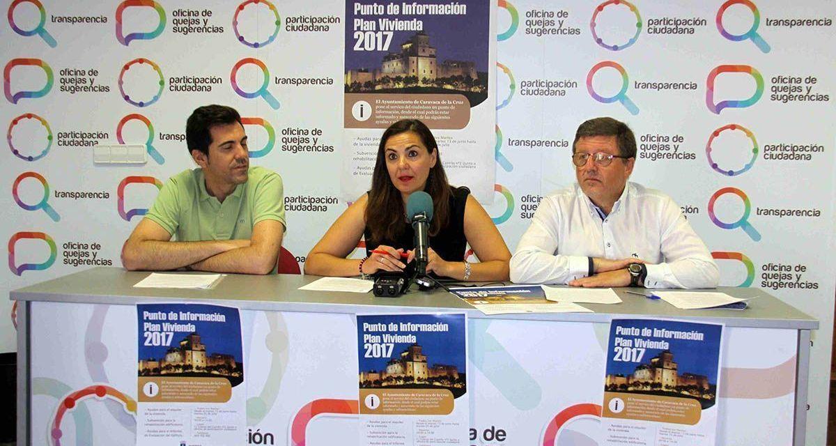El Ayuntamiento de Caravaca pone en marcha un servicio para informar de las ayudas del Plan de Vivienda