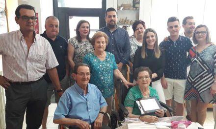 Homenaje a Ignacia Ruiz Gil en el Club de la Tercera Edad de Calasparra