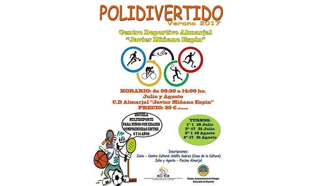 La escuela de verano de Cehegín 'Polidivertido' abre su plazo de inscripción