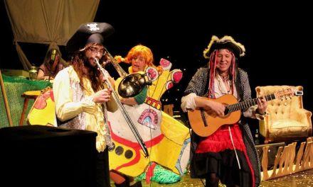 """""""Pepi Calzaslargas y la banda pirata"""" llega a Calasparra el domingo 23"""